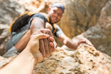 rock climbing extreme sport